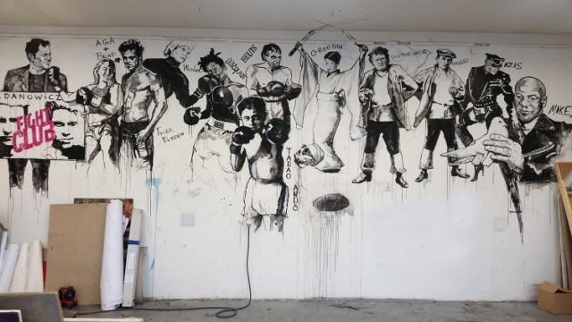 Ventzislav Piriankov pozwał Uniwersytet Artystyczny w Poznaniu o naruszenie jego dóbr osobistych po zamalowaniu stworzonych przez niego murali.  Przejdź do kolejnego zdjęcia --->