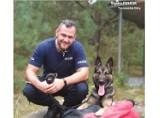 Nowy pies policyjny w Tarnowskich Górach. Owczarek niemiecki wabi się Otok ZDJĘCIA