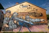 Murale w Łomży. Znasz je wszystkie? [zdjęcia]