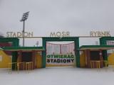Kibice ROW Rybnik domagają się otwarcia stadionów. Fani piłkarskiego ROW wywiesili baner na bramie stadionu