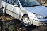 Dwa samochody zderzyły się na ul. Waryńskiego w Grudziądzu [wideo, zdjęcia]