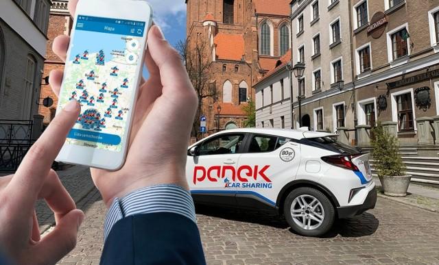 PANEK CarSharing to ogólnopolska sieć wypożyczalni samochodów