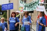 Chcą sprywatyzować uzdrowiska w Rabce, Goczałkowicach i Górkach Wielkich. Był protest w Katowicach