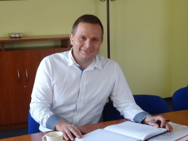 Tomasz Szymański, prezes zarządu PKS Spółka z o.o. w Kaliszu