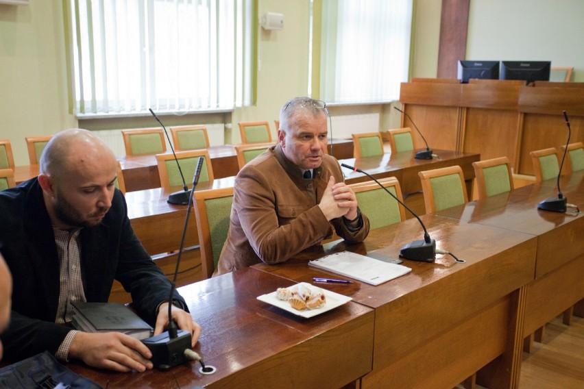 Robert Cerazy, zastępca burmistrza Bochni, posiedzenie...
