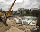 Wybudują 11 podziemnych zbiorników w Katowicach. Pierwszy powstał w Piotrowicach ZDJĘCIA