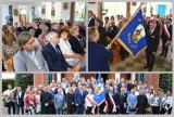 Sołtysi gminy Lipno otrzymali sztandar - uroczystość w Brzeźnie [zdjęcia]