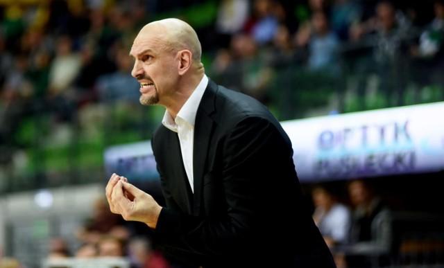 Žan Tabak przez dwa sezony był trenerem koszykarzy Zastalu Zielona Góra.