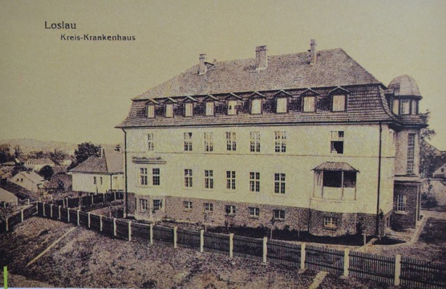 Dawny szpital przy ulicy Wałowej w Wodzisławiu Śl.