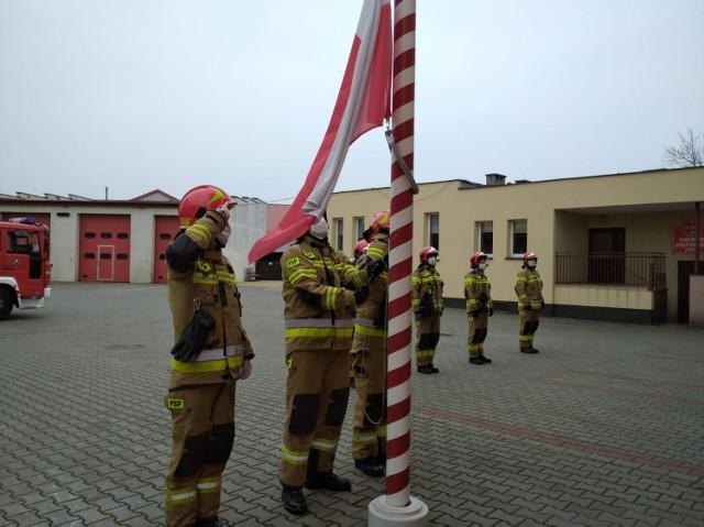 Komenda Powiatowa Państwowej Straży Pożarnej w Pucku: Święto Niepodległości  u strażaków