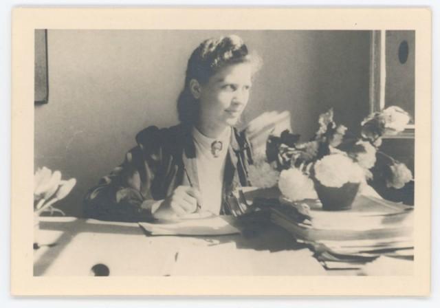 Ewa Faryaszewska w 1943 r.