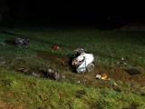 Śmiertelny wypadek na drodze krajowej nr 15 [ZDJĘCIA]