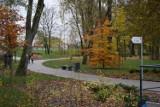 Jesienne kolory powoli znikają ze starogardzkiego parku [ZDJĘCIA]