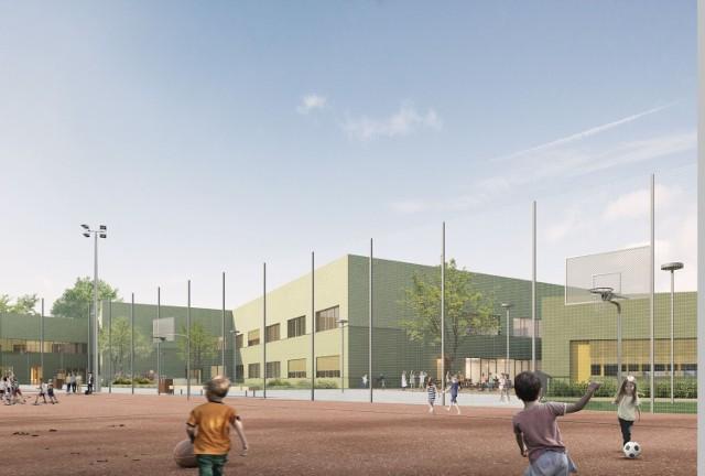 Tak ma wyglądać zespół szkolno-przedszkolny przy ul. Cynamonowej, na granicy Lipy Piotrowskiej i Widawy