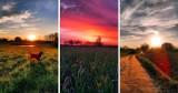 W tych widokach można się zakochać! Bajeczne zachody słońca w Kościerzynie i okolicy