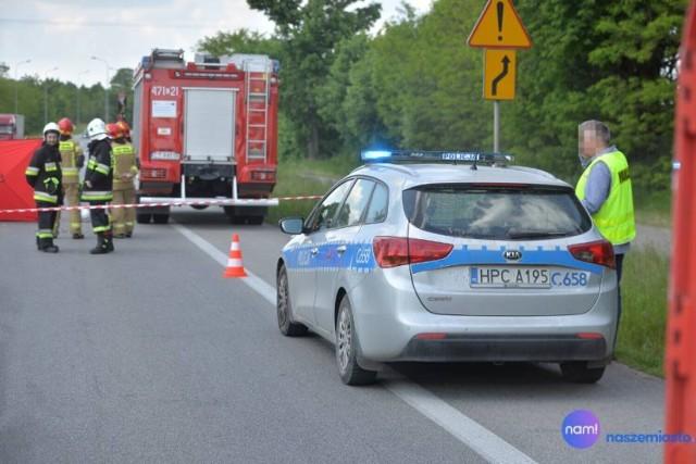 Tragiczny wypadek na granicy miejscowości Lipno i Złotopole. Na DK 10 zginął 53-letni kierowca motocykla z Torunia.