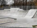 Nowy skatepark w Chrzanowie już gotowy. Na jego otwarcie trzeba jeszcze poczekać [ZDJĘCIA]