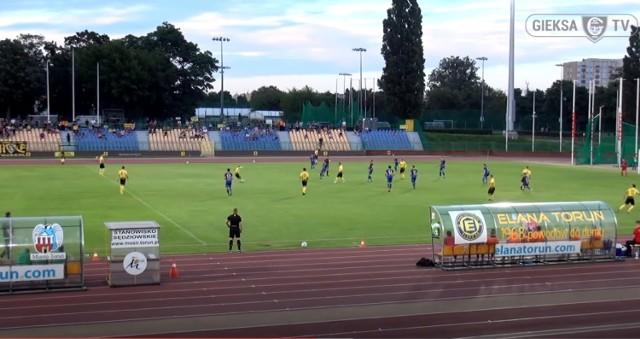 Elana Toruń - GKS Katowice 1:2. Zobacz skrót wideo z meczu 2. ligi