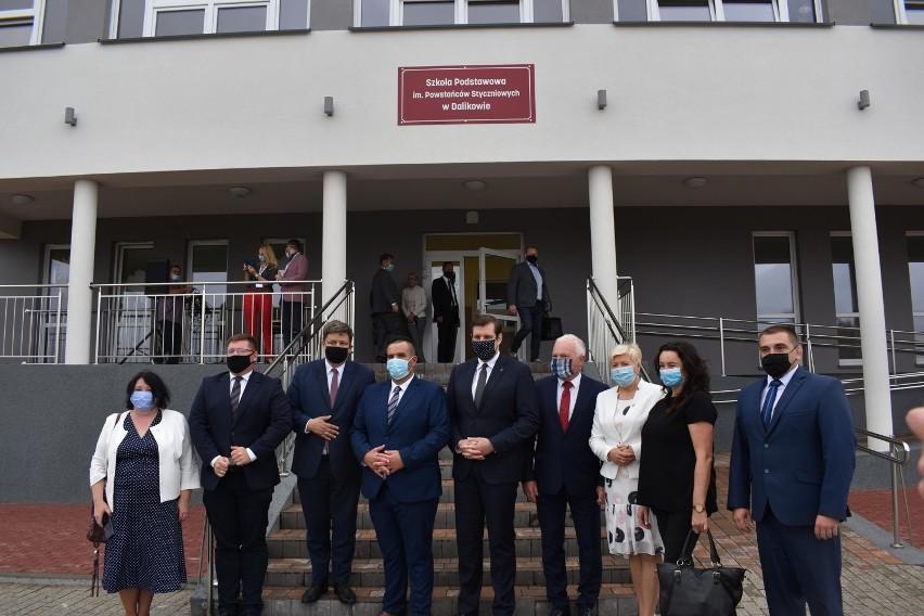 Premier Mateusz Morawiecki na rozpoczęciu roku szkolnego...