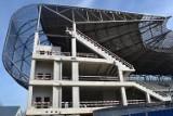 Budowa stadionu w Zabrzu. Wkrótce montaż krzesełek [ZDJĘCIA]
