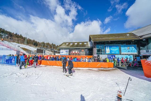 Stacja narciarska na Jaworzynie Krynickiej przeżywa oblężenie, to już prawie końcówka sezonu