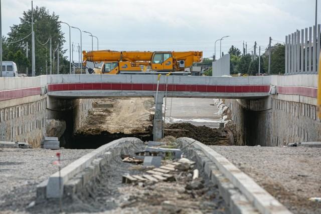 Trwa przebudowa ulicy Igołomskiej