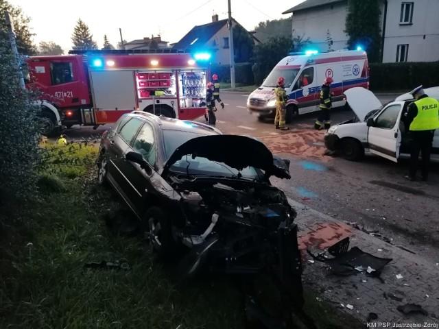 W wypadku w Jastrzębiu ucierpiała 51-latka.