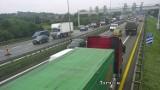 Kraków. Ogromne korki na A4. Wszystko przez remont wiaduktu nad autostradą [ZDJĘCIA]