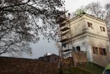 Zbąszyń: Remont dachu Baszty - 27 listopada 2020 [Zdjęcia]