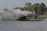 Kraków: ćwiczenia na statku przy Moście Dębnickim [ZDJĘCIA]