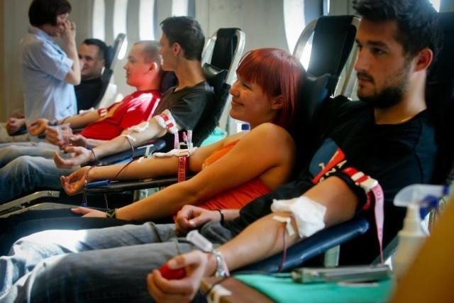 Honorowy pobór krwi we Władysławowie