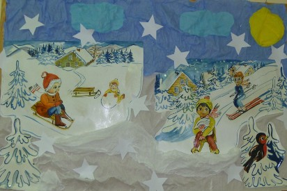 Zimowa Dekoracja W Przedszkolu Bijasowickim Zdjęcia
