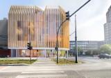 Łódź: w ścisłym centrum wybudują hotel z drewna? WIZUALIZACJE