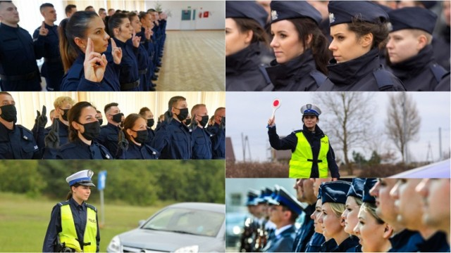 Zobaczcie najpiękniejsze panie pracujące w policji w Kujawsko-Pomorskiem. Zobaczcie, jakie piękne policjantki udało się uchwycić naszym fotoreporterom i fotografom policji.