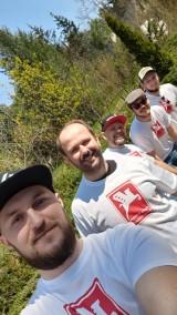Sławomir wspiera akcję grupy Wigry Składaki Dobre Chłopaki dla Wiktorka z Kalisza. ZDJĘCIA, WIDEO