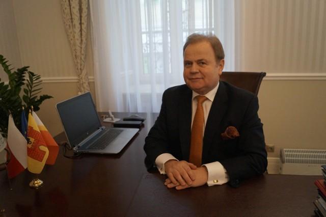 Roman Piaśnik, burmistrz Olkusza