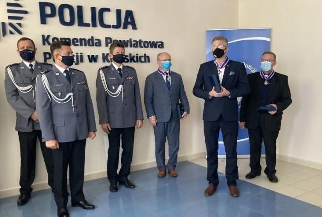 Podczas Święta Policji w Końskich.