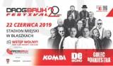 Drogbruk Festival w Błaszkach w sobotę 22 czerwca. Wystąpią: Kombi, De Mono i Golec uOrkiestra
