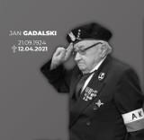Zmarł Jan Gdalski, pseudonim Wicher. Był prezesem zgorzeleckiego Związku Żołnierzy AK