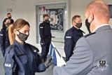Nowi policjanci w Wałbrzychu. Pełni wiary i nadziei ślubowali służyć wiernie