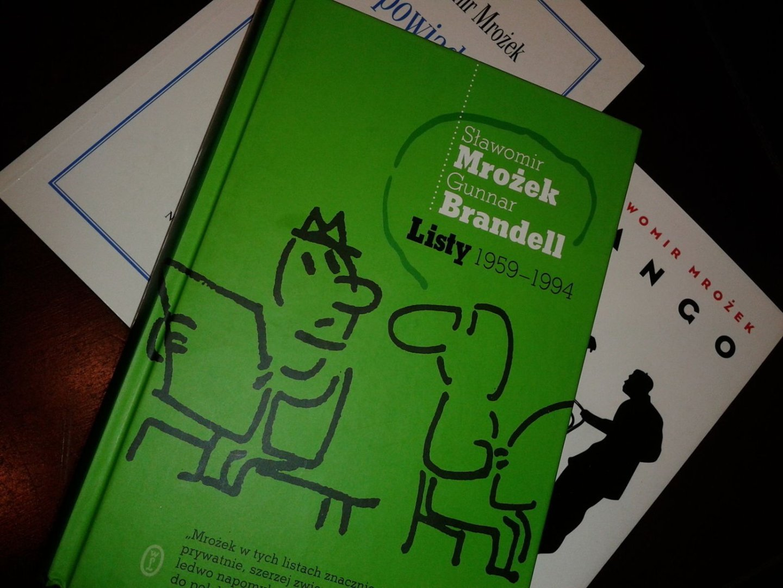 Sławomira Mrożka I Gunnara Brandella Listy Z Lat 1959 1994