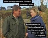 """Gdzie jest Andrzej Duda? """"Odsunął się w ostry cień mgły"""" MEMY. Gdzie jest prezydent? Internauci martwią się o głowę państwa"""