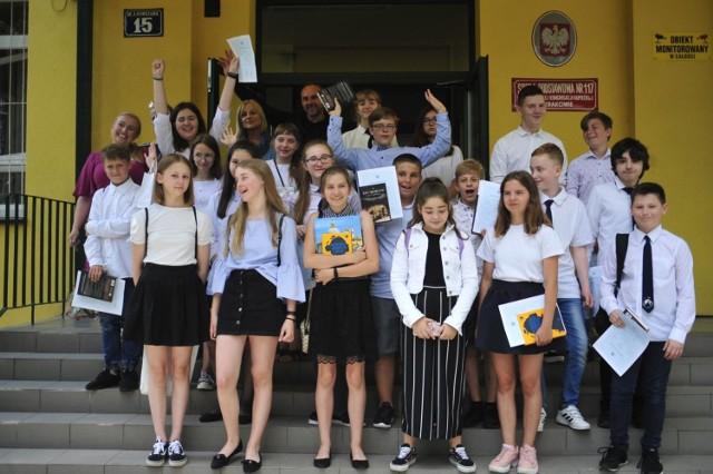 Zakończenie roku w Szkole Podstawowej nr 117 im. Krakowskiej Kongregacji Kupieckiej (ul. Kurczaba)