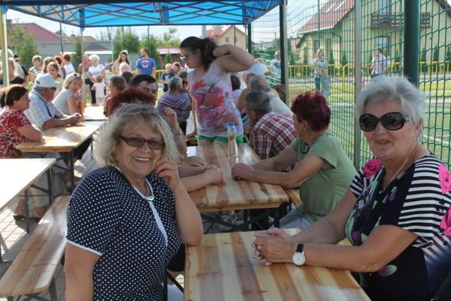 Na pikniku były zabawy dla dzieci, rywalizacja dorosłych i poczęstunek.
