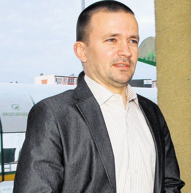 Trener PGE GKS Rafał Ulatowski jest optymistą