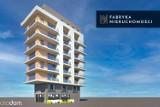 Sosnowiec: Powstanie wieżowiec na kurzej stópce? Apartamentowiec na 22 mieszkania na mini działce o powierzchni 500 metrów