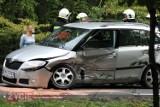 Zderzenie aut na drodze Krotoszyn-Sulmierzyce. Dwie osoby trafiły do szpitala [ZDJĘCIA]