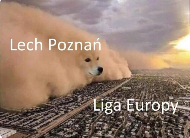 Lech Poznań awansował do fazy grupowej Ligi Europy, a w Internecie jak zwykle pojawiło się mnóstwo świetnych memów po pokonaniu przez podopiecznych Dariusza Żurawia Royal Charleroi 2:1. Zobaczcie najlepsze z nich.  Sprawdź memy po awansie Lecha Poznań do Ligi Europy! ----->