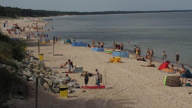 Plaża zachodnia , zdjęcie archiwalne