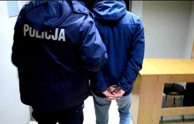 Sprawca przemocy został zatrzymany i trafił do aresztu na trzy miesiące